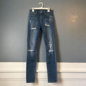 Women's Agolde Sophie Jeans Skinny Distressed
